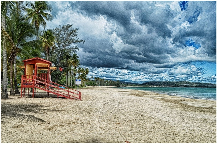 HDR - Luquillo Beach, Puerto Rico