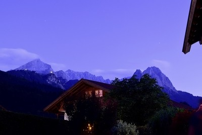 Dusk On The Zugspitze