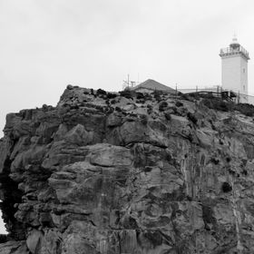 "This is the lighthouse on the top of the mountain at ""The Point"" Mosselbay. Which is also the town that Bartolomeo Dias  discovered in ..."