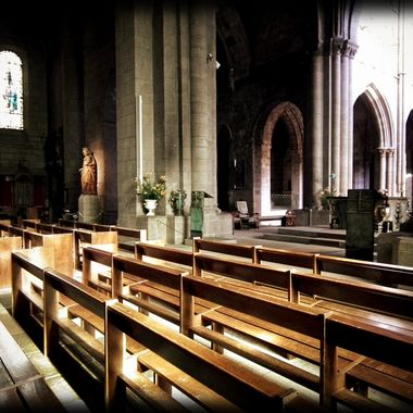 Beautiful church in St Malo France.