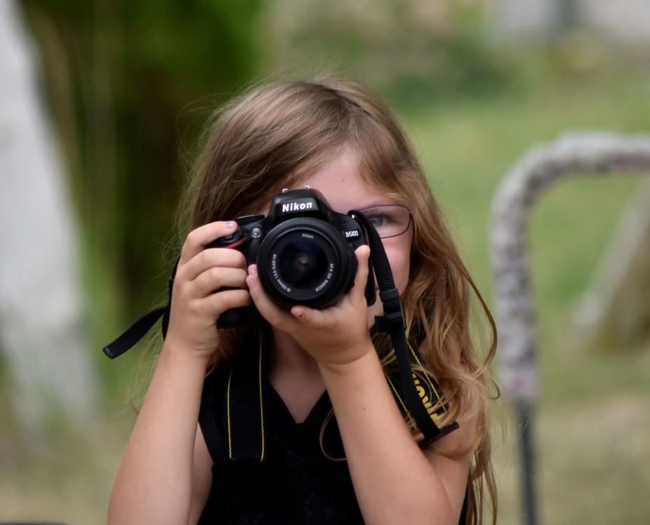 My Future Photographer