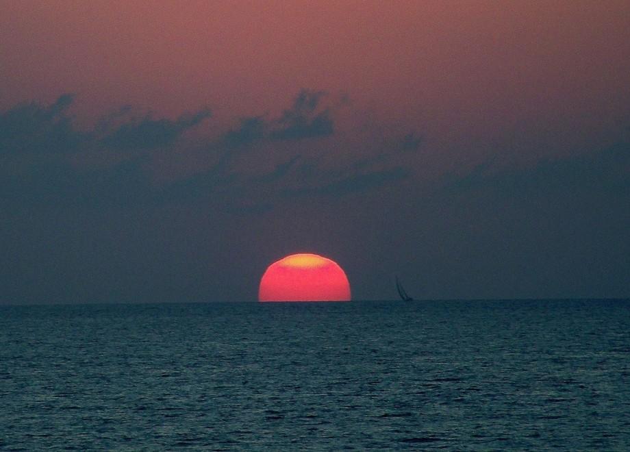 Awwww....Sunset in Puerto Vallarta.