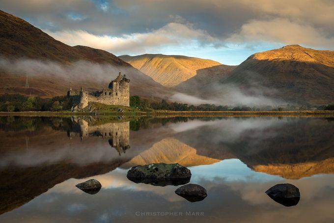 Perfect Kilchurn by chrismarr - Enchanted Castles Photo Contest