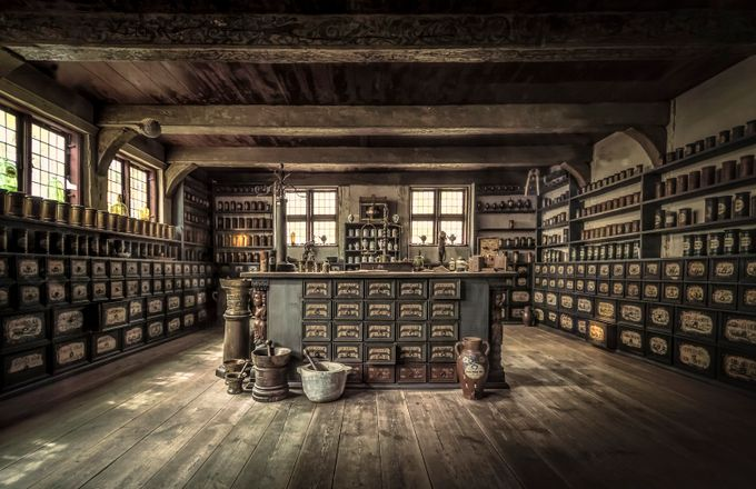 The Pharmacy by olesteffensen - I Love This Room Photo Contest
