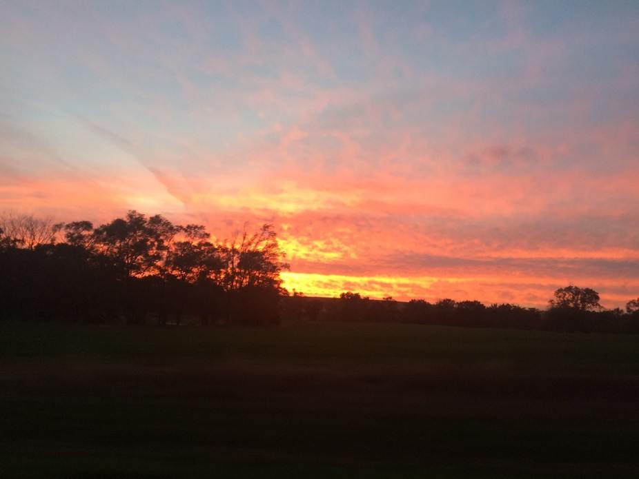 A beautiful Missouri sunset