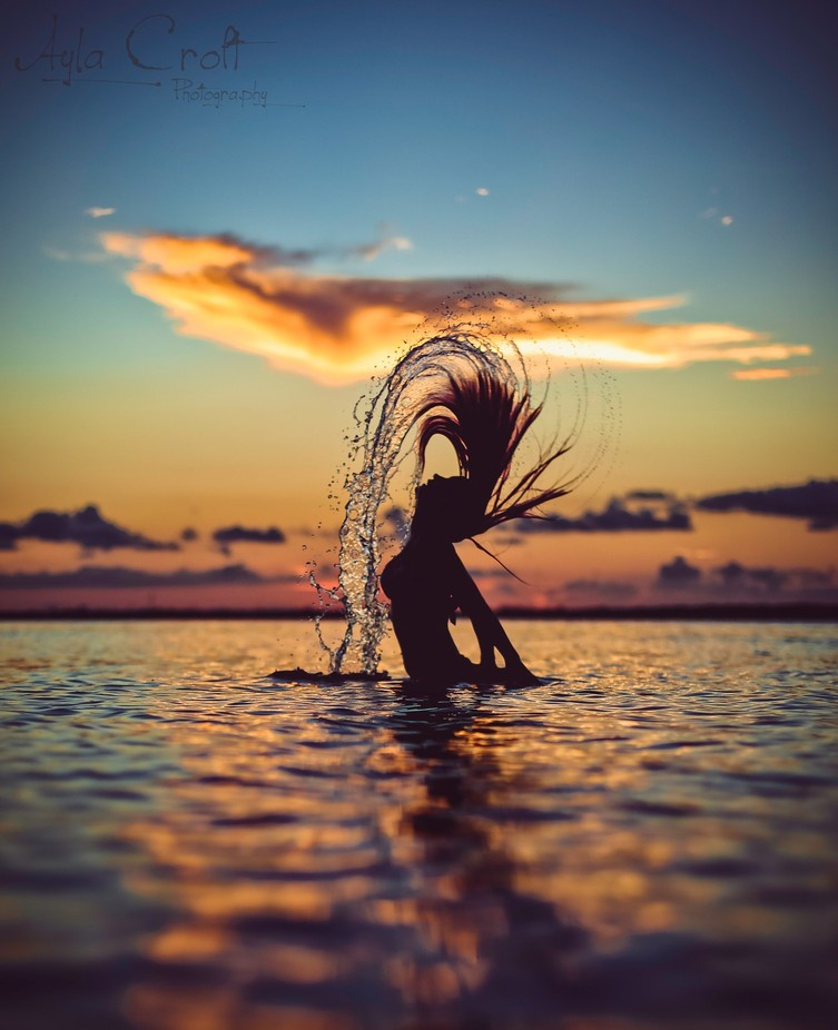 Rise from the Ocean by aylacroft - Isolated Photo Contest
