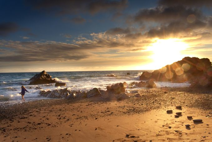 SandyMouth Sunrise by MollyXbacon - The First Light Photo Contest