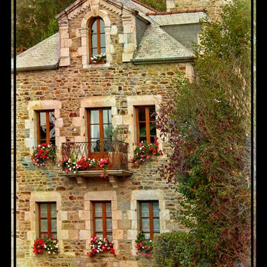 A beautiful French house.