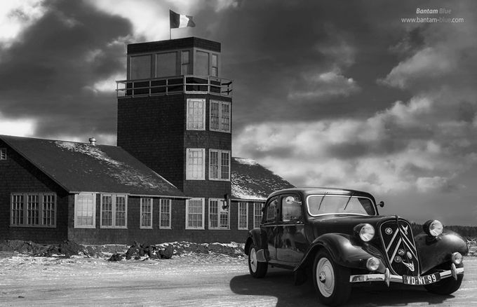 The Citroen Traction Avant by BantamBluePhotography - My Favorite Car Photo Contest