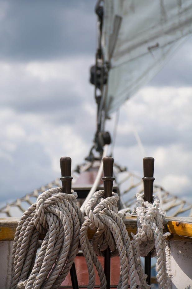 Bow of Tall Ship Windy by subuehler - TiltShift Effect Photo Contest