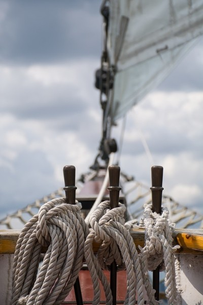 Bow of Tall Ship Windy
