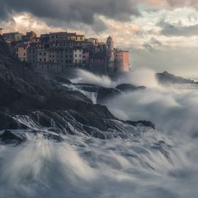 Seastorm on Tellaro  Lerici  - Italy