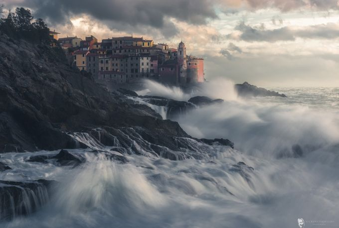 Tellaro's Waves by maurizioverdecchia - Europe Photo Contest