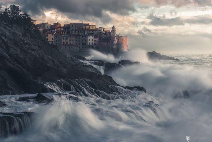 Tellaro's Waves by maurizioverdecchia - Europe Photo Contest