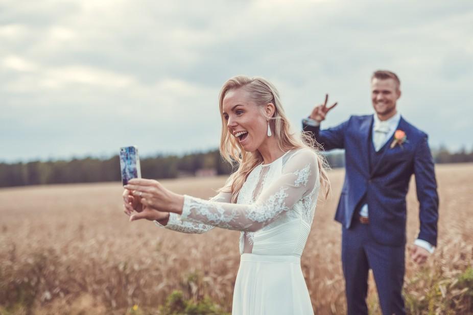 My first wedding shoot.