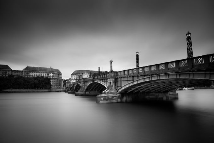 B&W Bridge by N1ckBaker - London Photo Contest