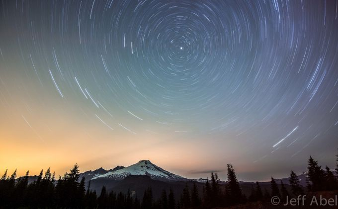 Mt. Baker Star Trails  by Zeattle - Circle Games Photo Contest