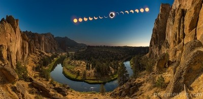 That time the moon walked all over the Sun