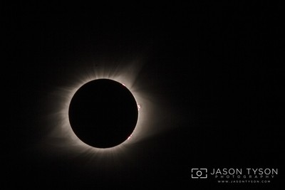 2017 Solar Eclipse in Totality