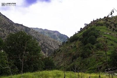 Beautiful Mountains near Chilas.