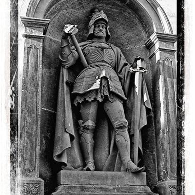 Statue on Bad Homberg Castle.