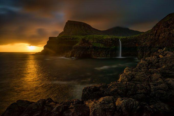 Mulafossur waterfall by strOOp - Beautiful Waterfalls Photo Contest