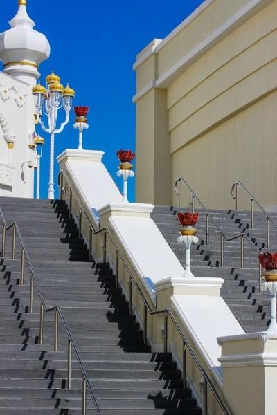 Steps of the Taj Mahal in Atlantic City