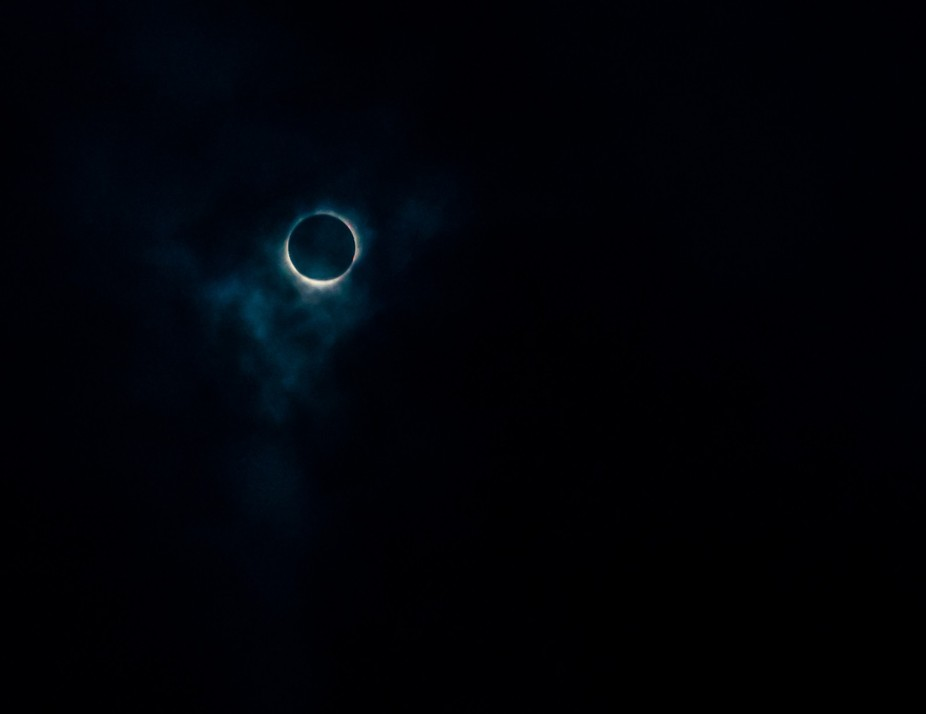 Eclipse as seen from Falls City Ne.