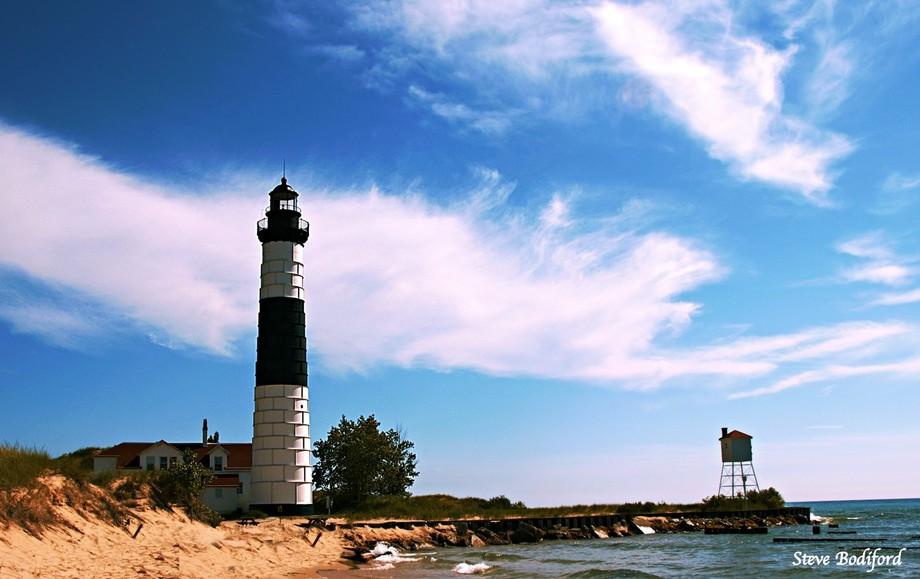 Big Sable Lighthouse,  Ludington, Michigan