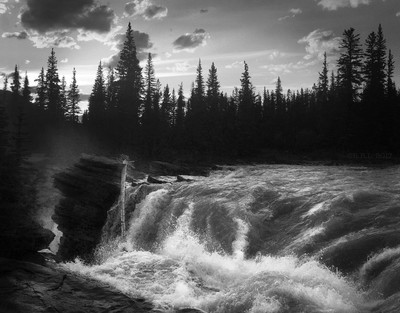 Athabasca Before the Falls