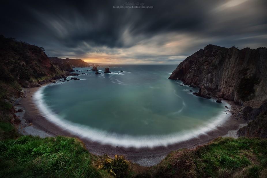 Silencio Beach. Asturias, Spain