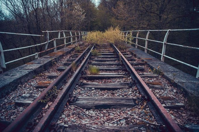 Abandoned Railway by JulesK - Empty Railways Photo Contest