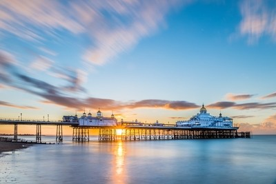 Beautiful sunrise at Eastbourne Pier 19-8-17.