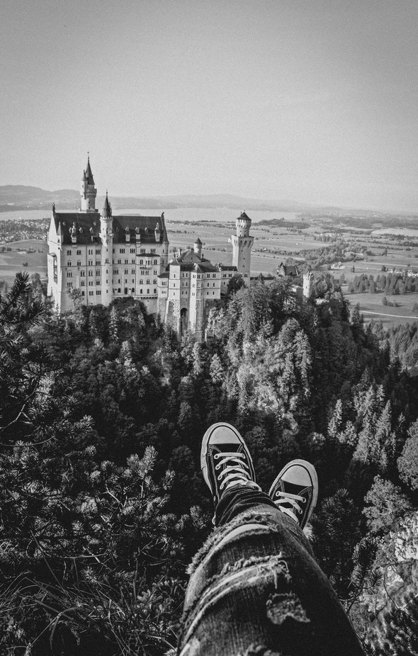 On the top of the world  by Martina_Prielozna - Cool Shoes Photo Contest