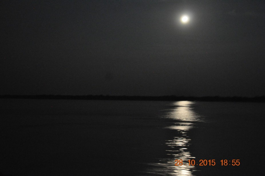 Moon river in Sunderbans