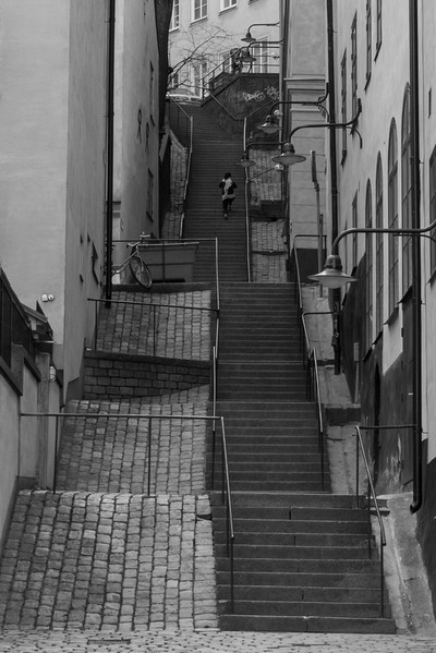 Stairs in Stockholm
