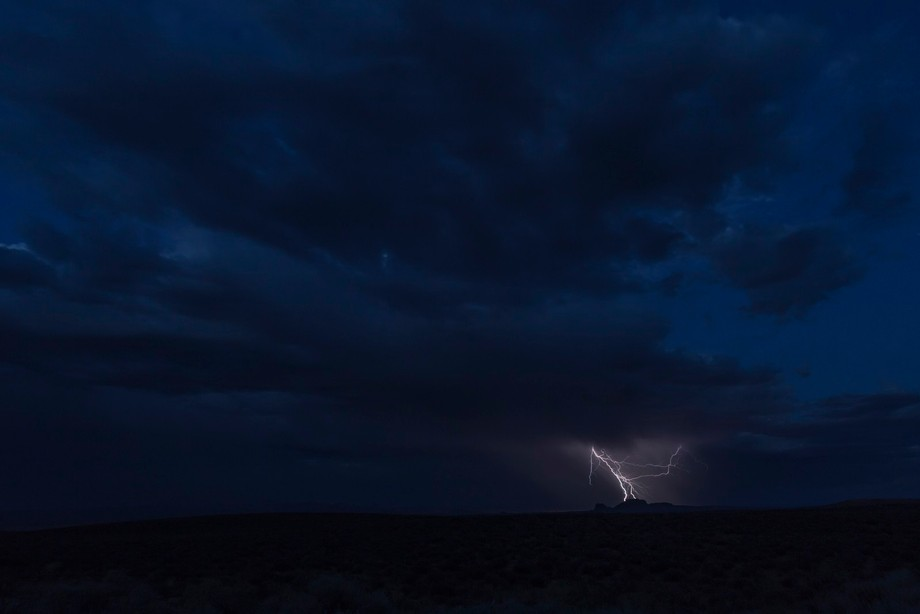 atsiniltł'ish is in the Navajo language and means lightning