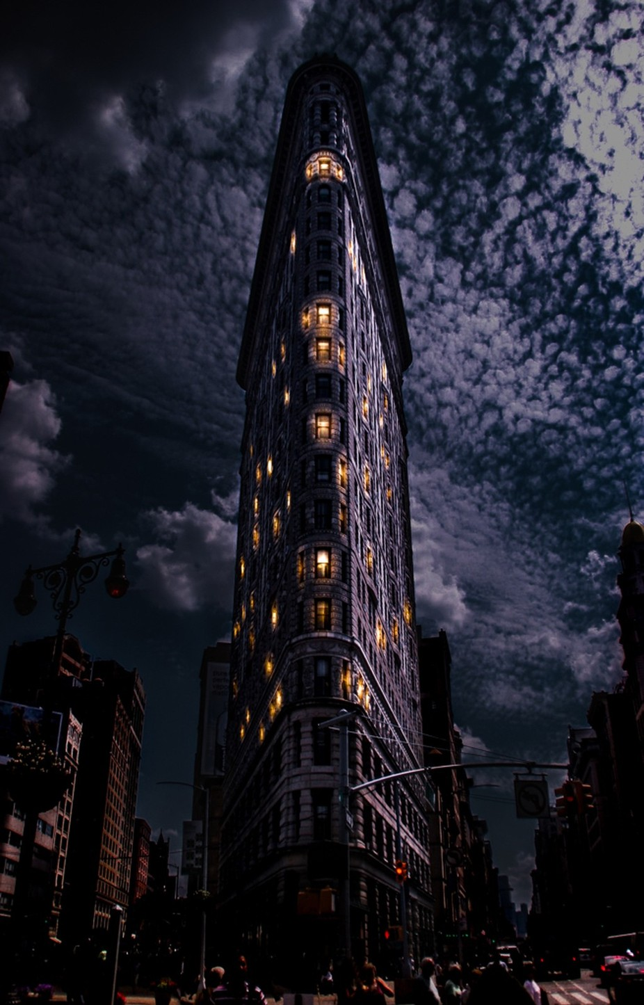 "NYC ""The Wedge"" by OliverJacobsen - Night Wonders Photo Contest"