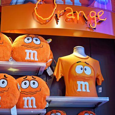 Orange M & Ms