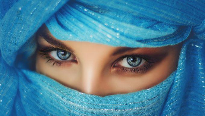 in her eyes by IrinaJalbaFurtuna - Covers Photo Contest Vol 41