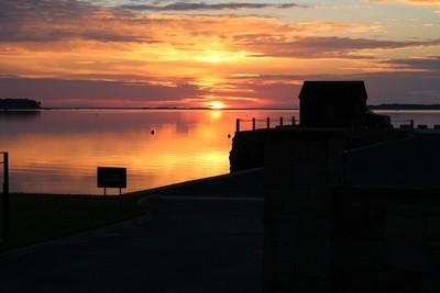 Sunrise in Harlow Bay