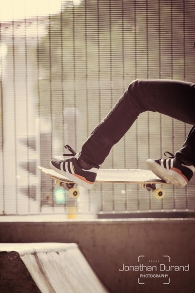 Skateboard in the city