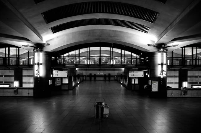 so empty by depechmaniac - Public Transport Hubs Photo Contest