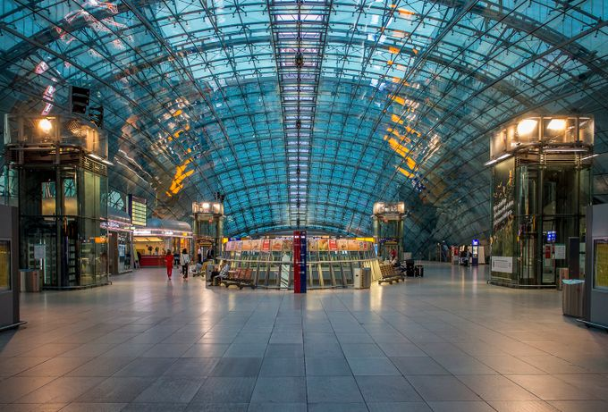 Frankfurt station by turboinc - Metro Stations Photo Contest