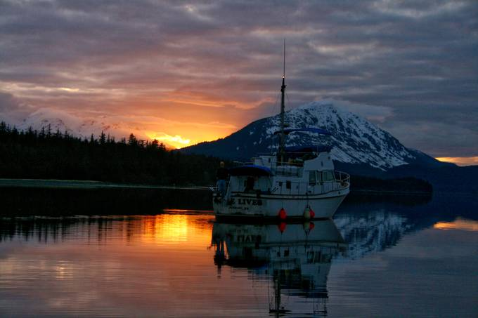 Last light in the inlet by michaeldobson - Alaska The Wild Photo Contest
