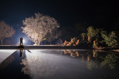 Wedding, Night photography