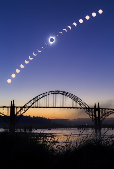 Visions of the Eclipse - Newport, Oregon