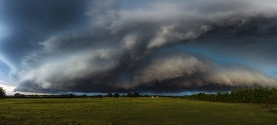 Storm front - Anna, Texas
