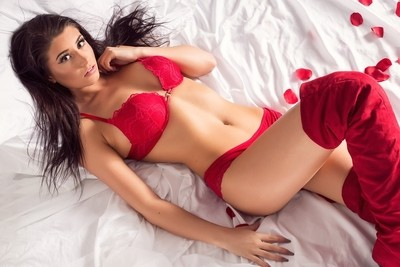Frankie - in Red