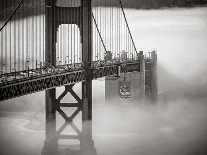 Golden Gate Bridge by Tony_Bendele - My Favorite City Photo Contest